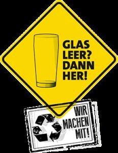 Glas leer? Dann her! | schraegekirmes.de
