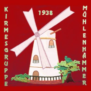 Standarte Kirmesgruppe Mühlenhämmer - Gevelsberg