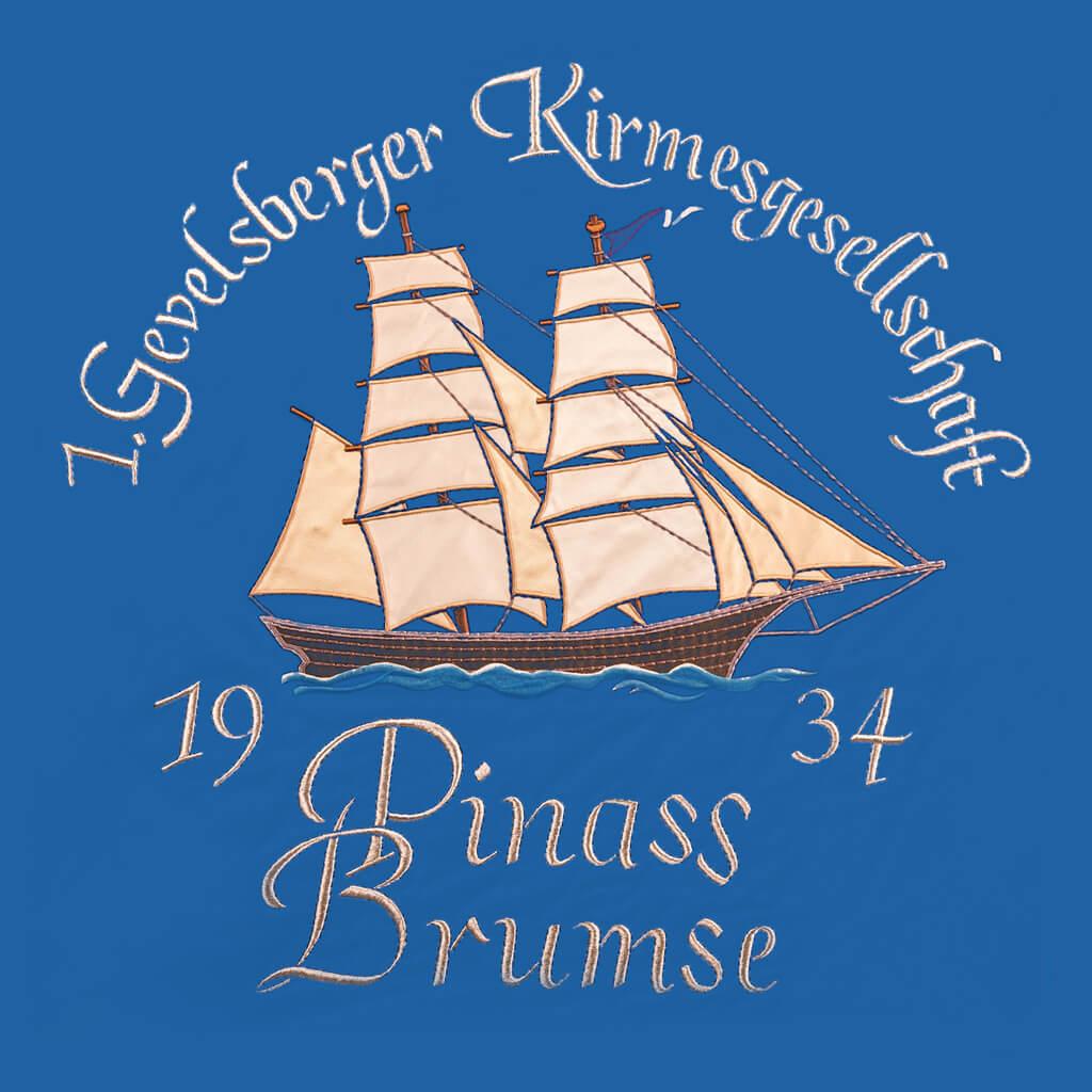 Standarte Kirmesgruppe Pinass Brumse - Gevelsberg