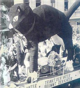 Vie vam Kopp 1972: An diesem Kater könnt ihr sehn, wie´s den Bundesbürgern kann ergehn…