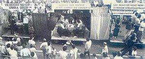 Asbecker Spielhölle im Kirmeszug 1987
