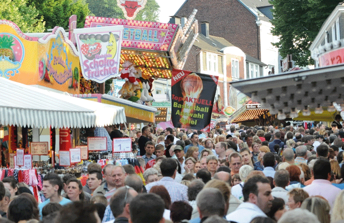 Die schrägste Kirmes Europas ist auch die schönste im ganzen Ruhrgebiet