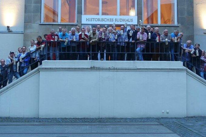 """""""75. Protestzug"""" ziert den Kirmeskrug in Gevelsberg"""